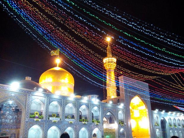 آمادگی کامل برای برگزاری نماز عید فطر در حرم رضوی ,
