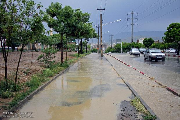 İran'da yağmur etkili oldu