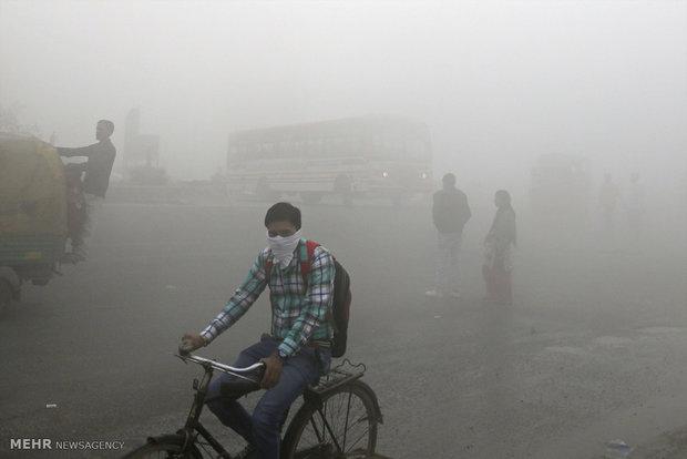 نئی دلی کے نواحی شہر گروگرام دنیا کا آلودہ ترین شہر قرار
