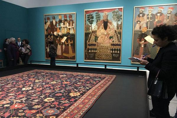 """اثار ومقتنيات قصر """"كلستان"""" تحلان ضيفاً على متحف اللوفر في فرنسا"""