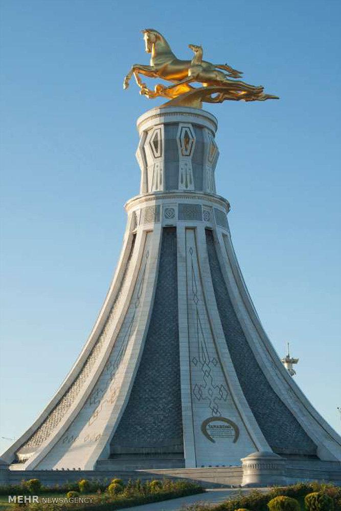 جایگاه اسب در فرهنگ ترکمنستان
