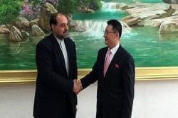 مساعد وزير الخارجية الايراني يلتقي نظيره الكوري الشمالي