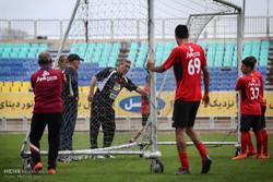 آخرین تمرین پرسپولیس در تهران قبل بازی با الجزیره امارات