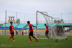 آخرین تمرین پرسپولیس در تهران قبل از بازی با الجزیره امارات