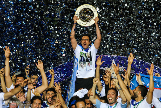 """İran Kupası'nın şampiyonu """"Esteghlal"""" oldu"""