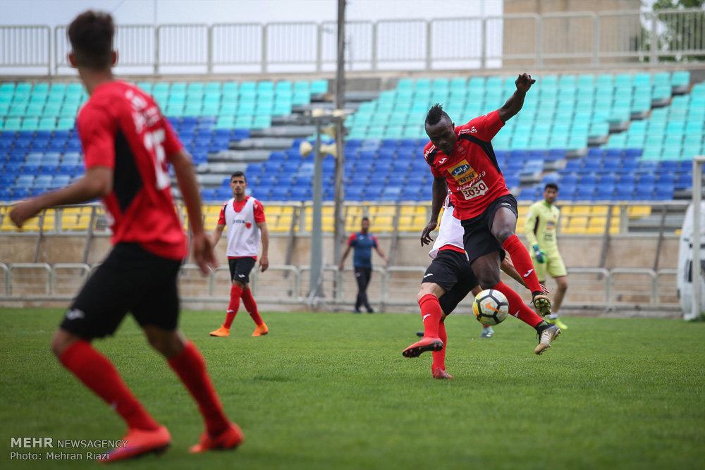 آ ین تمرین پرسپولیس در تهران قبل بازی با الجزیره امارات
