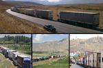 پروتکل های بهداشتی در گمرکات افزایش می یابد/۵۰۰ کامیون در صف خروج