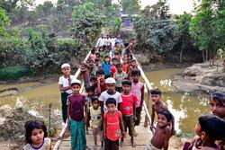 میانمار کی سکیورٹی فورسز کا روہنگیا مسلمانوں کو ساحلی پٹی خالی کرنے کا حکم