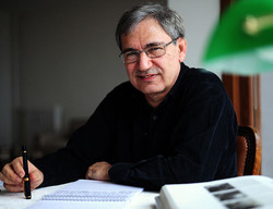Turkey's Nobel laureate Orhan Pamuk in an undated photo