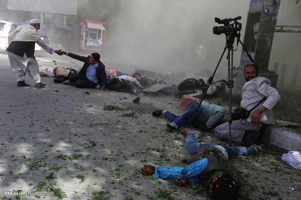 انفجار انتحاری کابل را به لرزه درآورد/۱۰ نفر کشته شدند