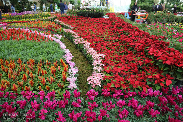 Intl. Exhibition of Flowers, Plants, Park Equipment and Related Industries opens in Tehran