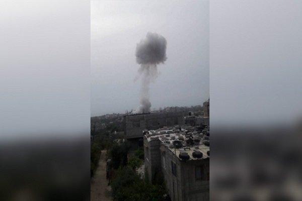 انفجار غزه