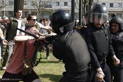 تظاهرات مخالفان پوتین در روسیه