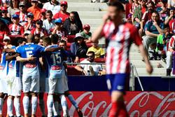 اتلتیکو مادرید در خانه به اسپانیول باخت