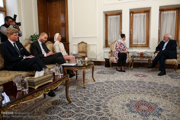 Zarif and Swedish State Secretary of Foreign Affairs meet in Tehran