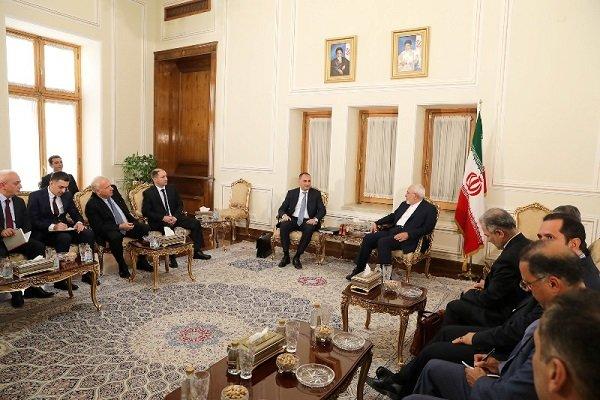 Zarif: İran ve Gürcistan'ın ekonomik işbirliği geliştirilmeli