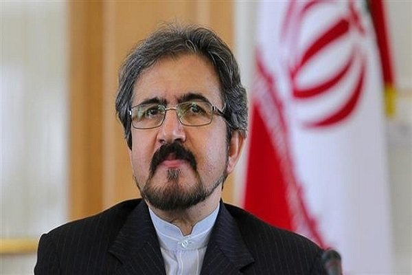 Ghasemi urges France to support Iranians against US pressure