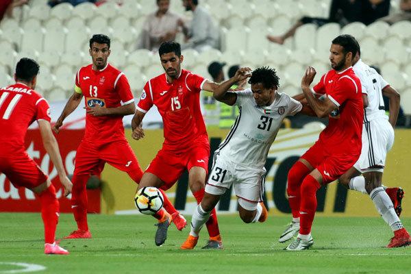 """""""الجزيرة"""" الاماراتي يفوز على برسبوليس بثلاثة أهداف مقابل هدفين"""