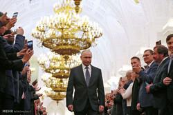 Vladimir Putin'in yemin töreninden kareler