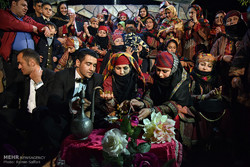 Wedding ceremony in Khorsan Razavi's Kalat