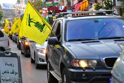 مشاهد من إحتفالات أنصار حزب الله تعبيرا عن بهجتهم للفوز بالانتخابات / صور