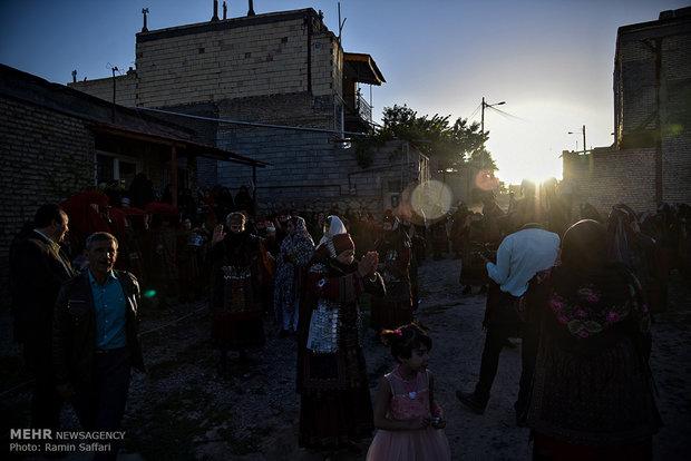 """حفل الزفاف بمدينة """"كلات"""" في محافظة خراسان الرضوية"""