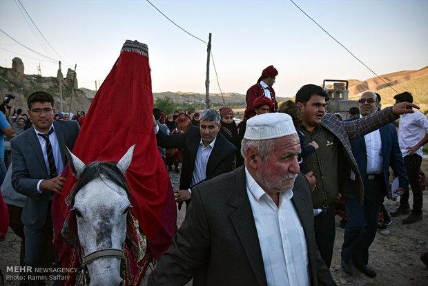 Wedding ceremony in Khorsan Razavi's Kalat