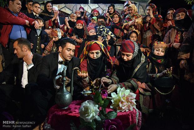 مراسم عروسی سنتی در کلات نادری
