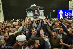 مراسم بزرگداشت آیت الله ایمانی در شیراز برگزار شد