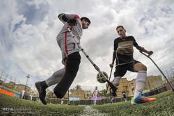 تصفيات منتخب ايران الوطني لكرة القدم للمعاقين / صور