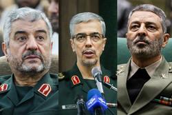 Mohammad Ali Jafari, Mohammad Baqeri, Abdolrahim Mousavi