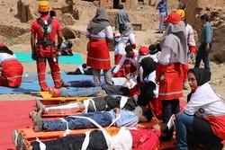 بیستمین مانورسراسری زلزله همزمان باسراسر کشور در استان برگزار شد