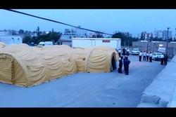 سه بیمارستان صحرایی در مرزهای خوزستان برپا شد