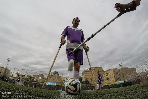 تصفيات منتخب ايران الوطني لكرة قدم المعاقين