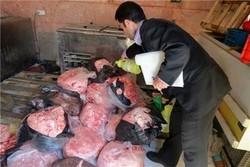 ۱۱ هزار کیلوگرم گوشت قرمز فاسد در چهارمحال وبختیاری معدوم سازی شد