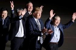 ترامپ و گروگانها