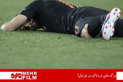 مرگ های دردناک در فوتبال!