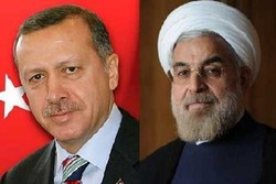Pres. Rouhani's message delivered to Turkish counterpart