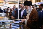 بازدید رهبر انقلاب از سی و یکمین نمایشگاه بینالمللی کتاب تهران