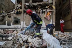 انفجار و ریزش ساختمان چهارطبقه مسکونی در پردیس اهواز