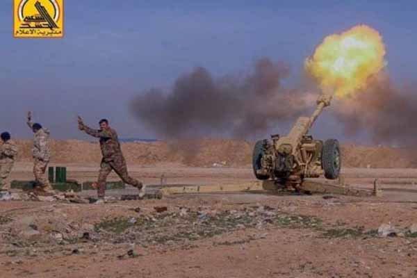 حهشد زیانی زۆری له داعشییهکانی سنووری سووریا داوه