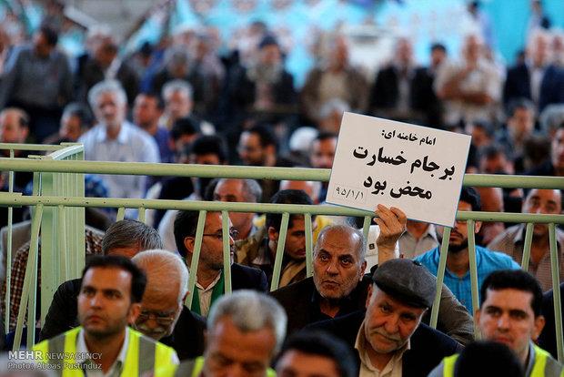 تظاهرات حاشدة في اصفهان تشجب انسحاب امريكا من الاتفاق النووي