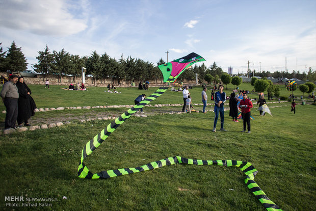 Kite festival in Qazvin