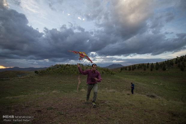Kite festival in Qazvin