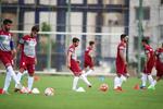 تمرین تیم فوتبال امید ایران