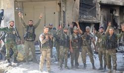 Syrian Arab Army continues combating terrorism in al-Hajar al-Aswad
