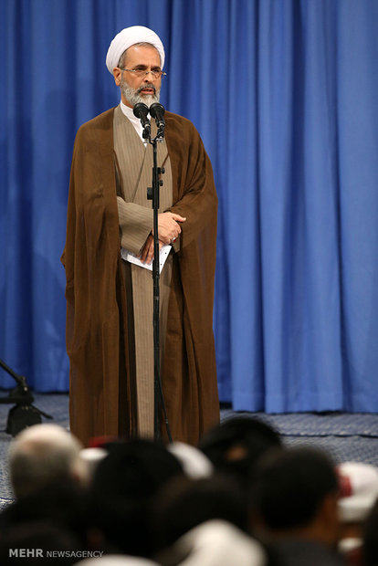 """İnkılap Rehberi'nin """"Şia ve İslami Bilim Kongresi"""" yetkilileriyle yaptığı görüşme"""