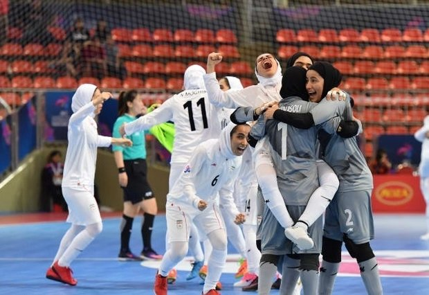 Iran clinches title at AFC Women's Futsal Championship