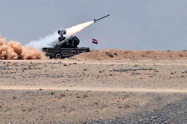 سوپای سووریا مۆڵگەکانی داعش لە هاوێری دەرعای تێک شکاند