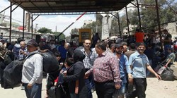 Hundreds of families return home in Yelda, Babeila, Beit Sahem